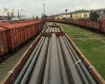 Large diameter pipes' shipment for TGPC Project in Turkmenistan